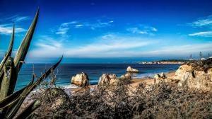 Morze Śródziemne z afrykańskiego wybrzeża